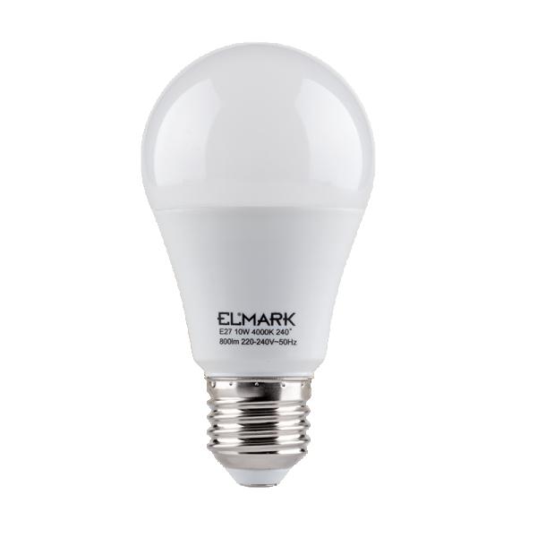 Sijalica LED PEAR A60 SMD2835 10W E27 99LED586 Elmark