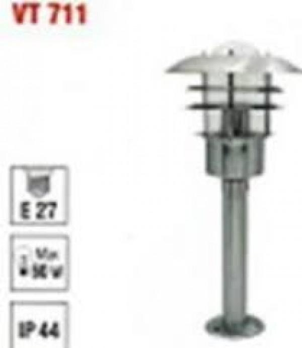 Svetiljka VT 711 lampa stubna E27/60W IP44