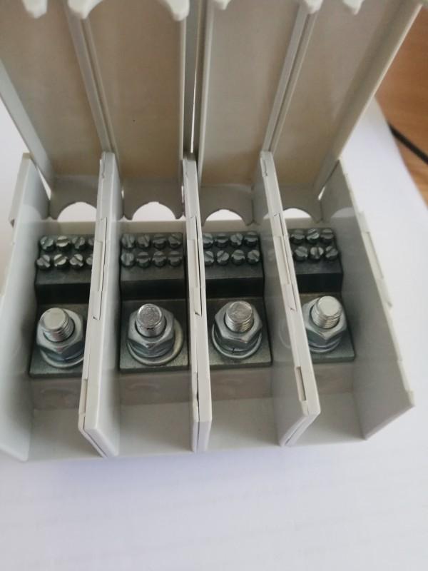 Redna stezaljka razdelna 1x35/4x6 mm2