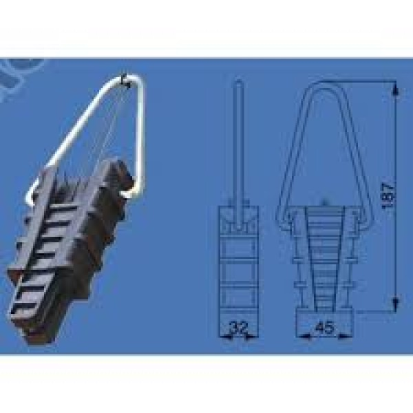 Zatezna stezaljka za snop 16-25 mm