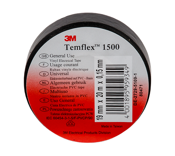 PVC izolaciona traka 3M Temflex 1500 20mx19mm M151016 Elmark
