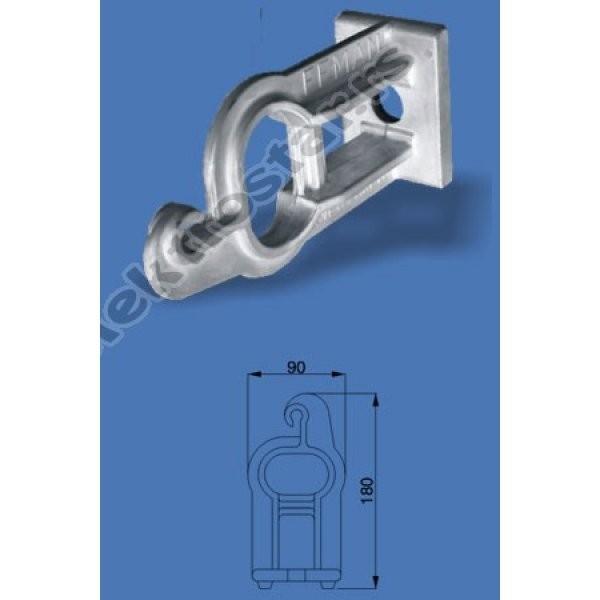 Aluminijumska konzola za SKS