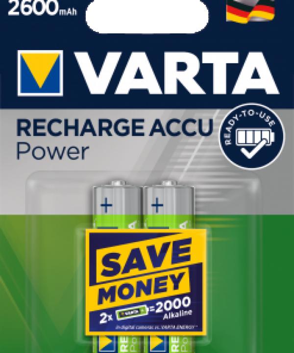 Punjiva baterija HR6 AA 2600 mAh