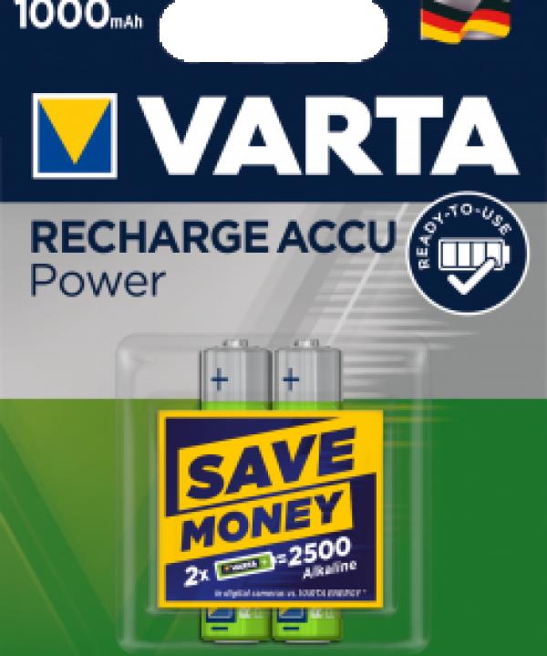 Punjiva baterija HR3 AAA 1000 mAh