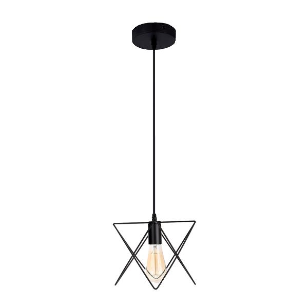 IDA viseća svetiljka 1xE27 crna 955IDA1/BL Elmark