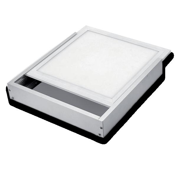 Nadgradni ram za led panel 595x595x50mm beli 92FRAME020W Elmark