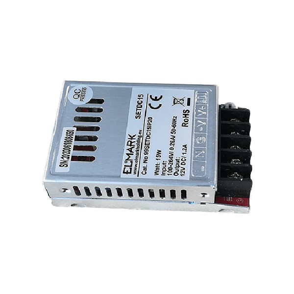 Napajanje za led trake 15W 230VAC/12VDC 99SETDC15IP20 ELMARK